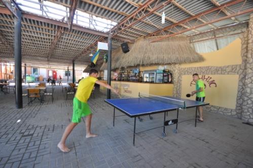 Развлечения, отдых, Счастливцево: Настольный теннис